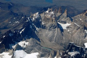 Volo su le Torri del Paine